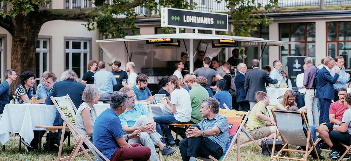 Lohrmanns Brew war schon Teil vieler Veranstaltungen.