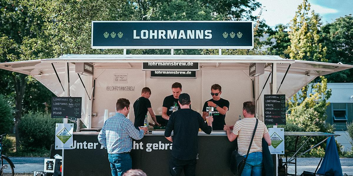 Die Semesterendparty 2019 der TU Dresden fand mit viel Lohrmanns aus dem Fass statt.